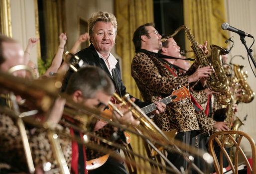 Brian Setzer Orchestra at Academy of Music