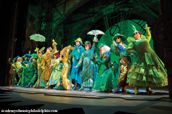 wicked the untold story of the witches of oz broadway musical