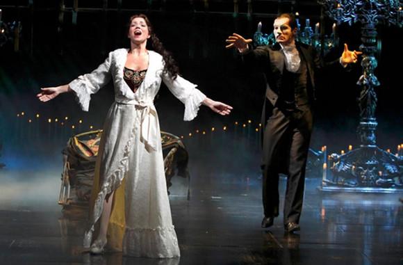 phantom of the opera andrew lloyd webber musical academy of music philadelphia