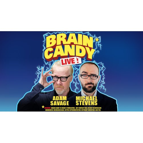 The Brain Candy Live Tour: Adam Savage & Michael Stevens at Academy of Music