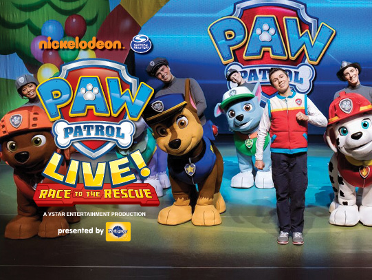PAW Patrol Live at Academy of Music