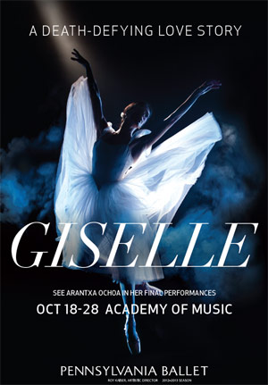 Pennsylvania Ballet: Giselle at Academy of Music