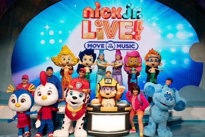 Nick Jr. Live! Move to the Music at Academy of Music
