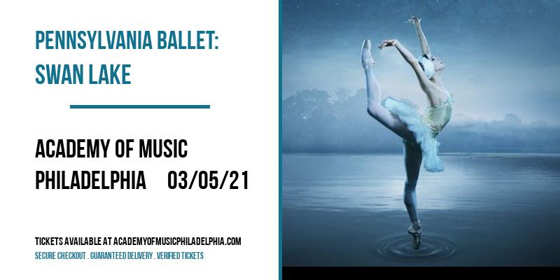 Pennsylvania Ballet: Swan Lake at Academy of Music