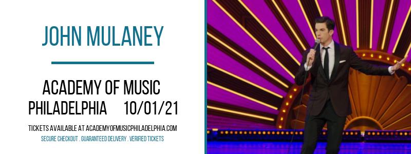 John Mulaney at Academy of Music